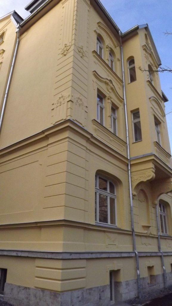 Stuckarbeiten in der Cranachstrasse in Weimar 2013